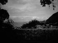 View from favelas